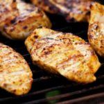 screenshot of george foreman grill chicken breasts