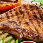 screenshot of george foreman grill pork chops