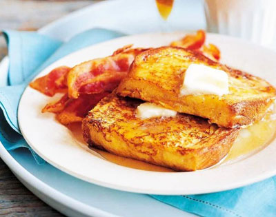 screenshot of classic french toast