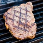 screenshot of george foreman grilled ribeye steak
