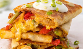 George Foreman Grilled Chicken Quesadillas Recipe