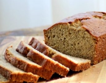 screenshot of plain banana bread